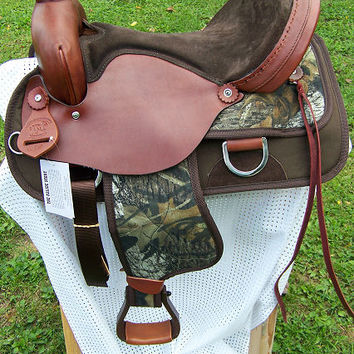 Horse or Mule Camo Saddle & Tack Set *Tack can be purchased separately* - 52 Mossy Oak Breakup Set