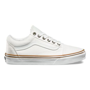 Vans Old Skool Sun Faded Blanc