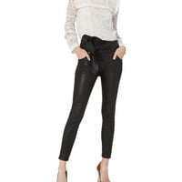 Alpen Leather Skinny Pants