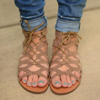World Traveler Sandals- Taupe