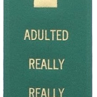 Adulted Really Really Good Prize Award Ribbon on Gift Card