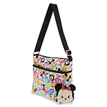 Disney ''Tsum-Tsum'' Crossbody Bag with Minnie Mouse Plush Coin Purse