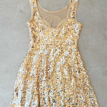 Charmed Sequind Party Dress [6366] - $36.40 : Vintage Inspired Clothing & Affordable Dresses, deloom | Modern. Vintage. Crafted.