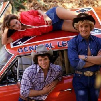 Dukes Of Hazzard poster Metal Sign Wall Art 8in x 12in