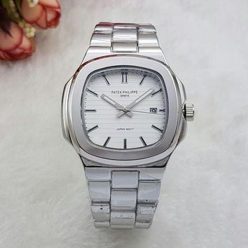 DCCKNY1Q Boys & Men Patek Philippe Fashion Quartz Watches Wrist Watch