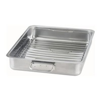KONCIS Roasting tin with grill rack - IKEA