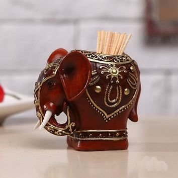 Classic Elephant Toothpick Holder