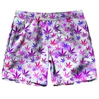 Colorful Weed Shorts
