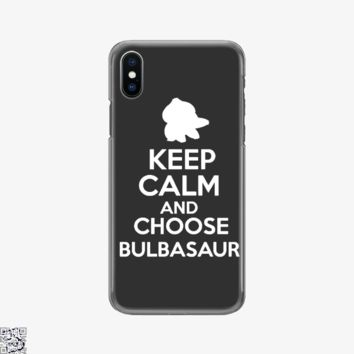 Choosebulba, Pokemon Phone Case