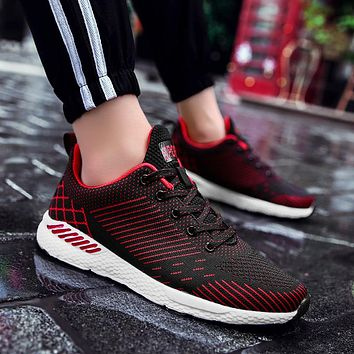 Big Max size 48 Spring/Summer Breathable Mesh Lovers Leisure Footwear Casual shoes Soft  Light Weight Couple Fashion Trend Shoes