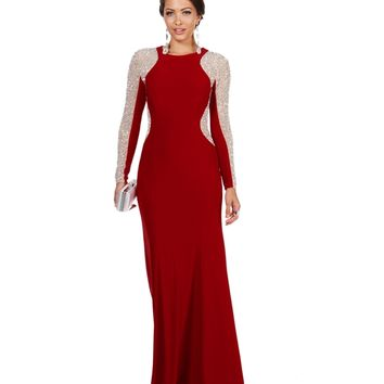 Promo-becca- Red Prom Dress