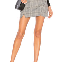 Capulet Ida Skirt in Glen Plaid