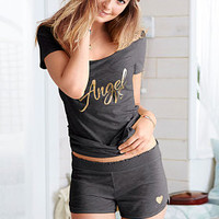 Tee and Short Set - Signature Cotton - Victoria's Secret