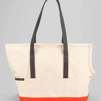 Love Thy Beast Canvas Dog Tote- Ivory L