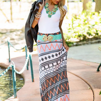 Full of Heart Maxi Skirt - Modern Vintage Boutique