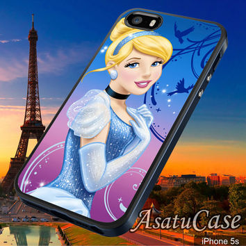 Cinderella Princess - Samsung Galaxy S2/S3/S4,iPhone 4/4S,iPhone 5/5S,iPhone 5C,Rubber Case,Cell Phone,Case,Accessories - 030114/CA12