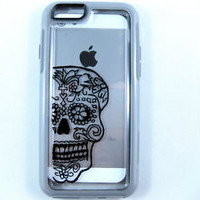 Otterbox Symmetry iphone 6 Case , sugarskull case