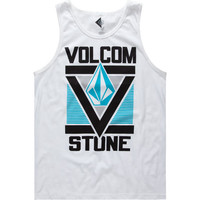 Volcom Super Vee Mens Tank White  In Sizes