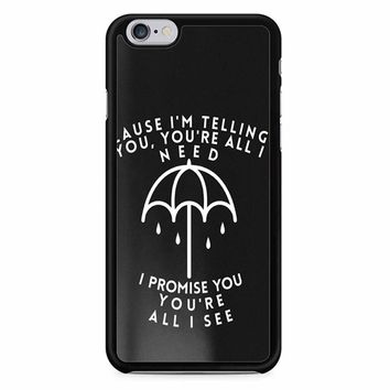 Bring Me The Horizon Lyric iPhone 6 Case