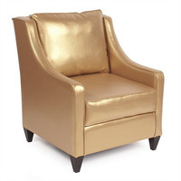 Howard Elliott Shimmer Gold Side Car Chair  - Howard Elliott 831-880