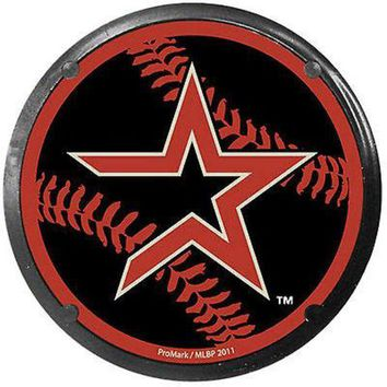 ONETOW Houston Astros PV Car Coaster Air Freshener Auto Car Truck Baseball