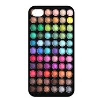 Treasure Design Funny Cute Makeup Set Iphone 4/4s Silicone Case For Gilrs