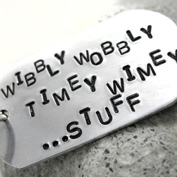 Wibbly Wobbly Timey Wimey...Stuff  Doctor Who by oneeyedfox