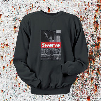 Swerve Will Smith Sweater Black, Blue, Gray, Orange, Red, and Yellow Sweatshirt Crewneck Men or Women Unisex Size