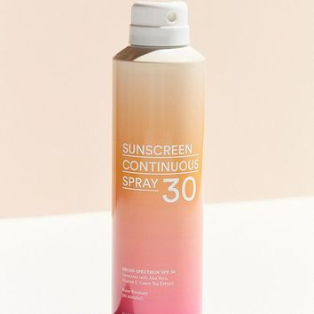 UO SPF 30 Continuous Spray Sunscreen | Urban Outfitters