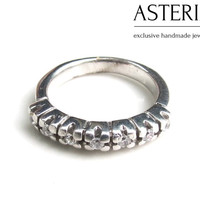 925 Sterling ring - Silver Band ring - Cubic zirconia ring - Promise ring - CZ ring - Bridesmaid ring