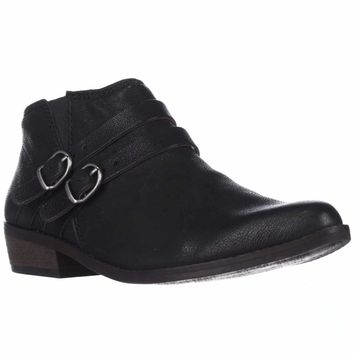 Lucky Brand Jofeen Ankle Booties, Black, 9 US / 39 EU