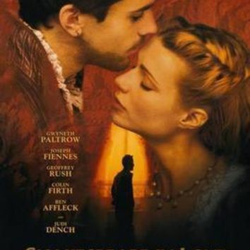 Shakespeare In Love Movie poster Metal Sign Wall Art 8in x 12in