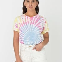 2001tdiw - Unisex Indian Summer Tie Dye Fine Jersey Short Sleeve T-Shirt