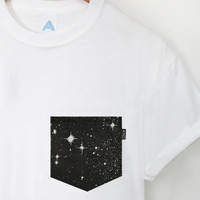 ANDCLOTHING — Deep Galaxy AND Pocket Tee