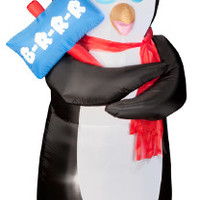 Christmas Decor: Inflatable Shivering Penguin