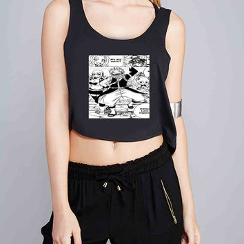 Fairy Tail manga for Crop Tank Girls S, M, L, XL, XXL *07*