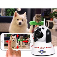 Smart Dog Home Security WiFi IP Camera 720p with Night Vision