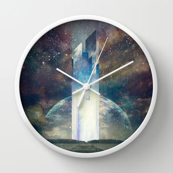 It´s your fault Wall Clock by HappyMelvin
