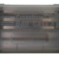 MTM Crossbow Bolt Case (Clear Smoke)
