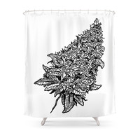 Society6 Hey Bud Shower Curtain