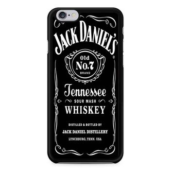 Jack Daniels Black iPhone 6/6S Case
