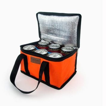 Lunch Box Picnic Waterproof Tote 6 Colors