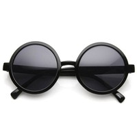 1980's Retro Round Sunglasses Fashion Sunglasses 8754 - zeroUV