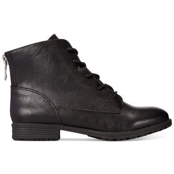 Style & Co. Qwinn Casual Lace Up Booties, Only at Macy's