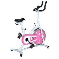 Sunny Health & Fitness Indoor Cycling Bike (Pink)