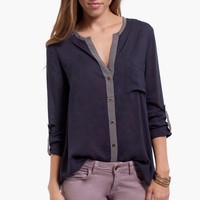 Georgia Button Blouse $26