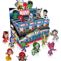 SEALED Marvel Comics Funko Mystery Mini Figures figurines, Loki, Deadpool, IN UK