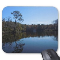 Blue Sky Reflections - Beaufort County, NC Mouse Pad