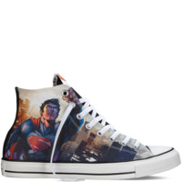 Converse Chuck Taylor DC Comics Superman Black Hi Top