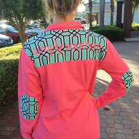 Simply Southern Logo Pullover - Hot Pink